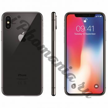 IPhone X 64 Gb Space gray без Face ID