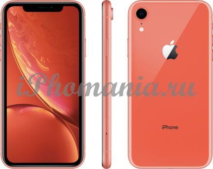 IPhone XR 64 Gb Coral без Face ID
